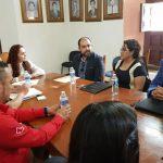 Erika Reyes y empresarios de VIlal de Reyes