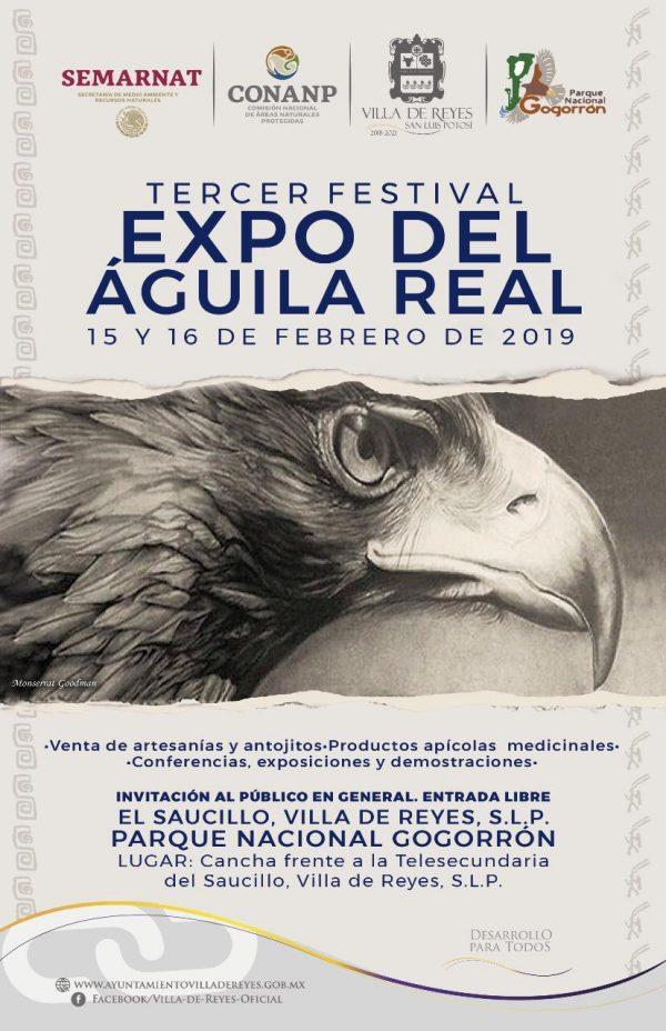 """INVITAN A PARTICIPAR Y DISFRUTAR  DEL """"FESTIVAL DEL ÁGUILA REAL"""""""
