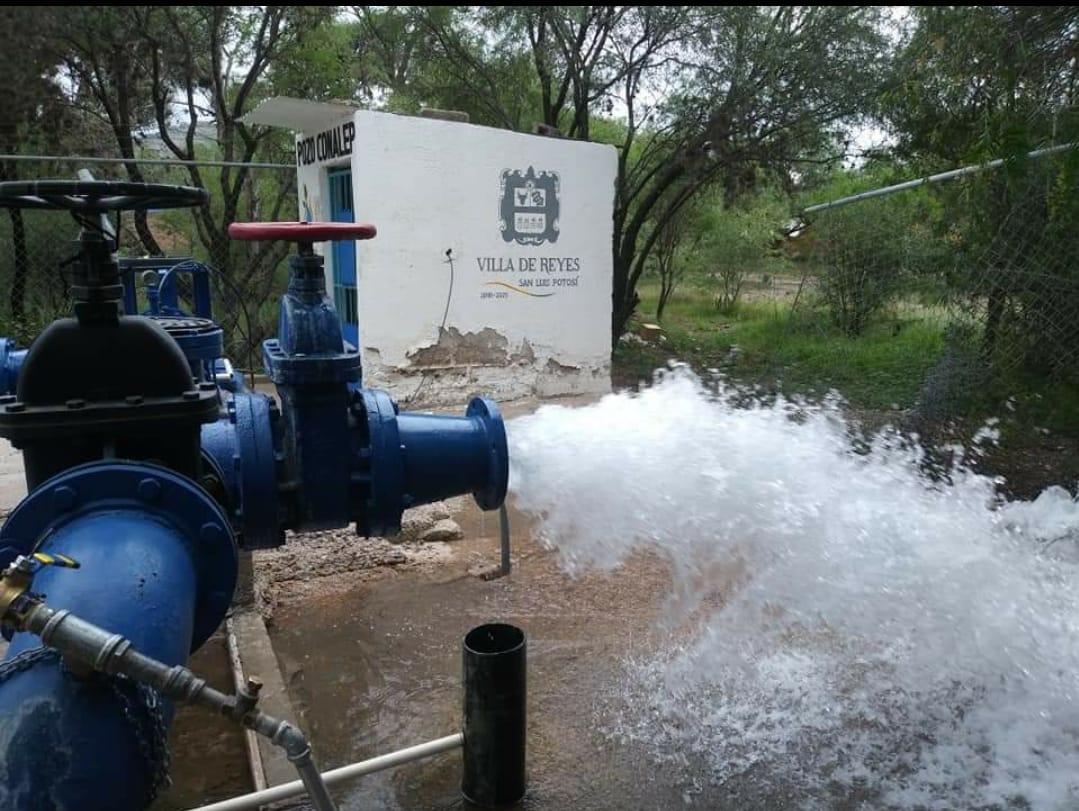 Obras y ampliaciones de redes de agua sin precedentes en Villa de Reyes