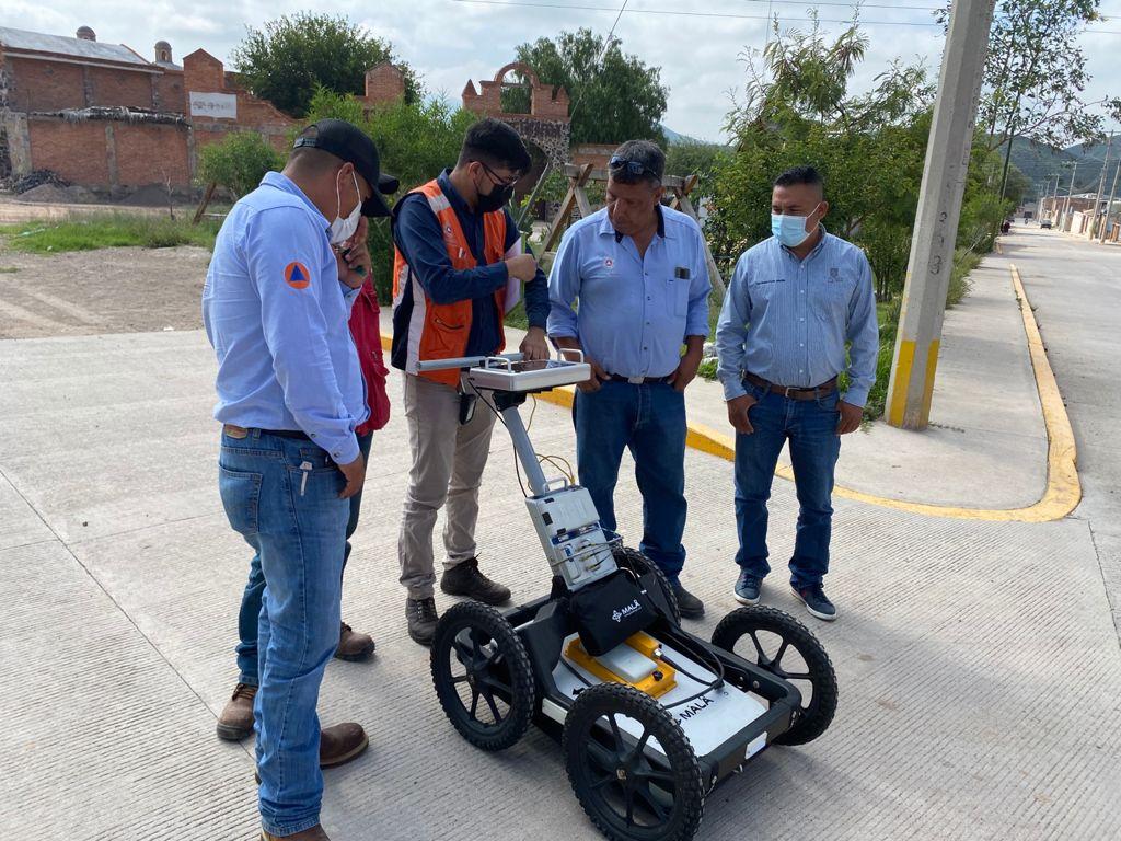 Realiza Ayuntamiento de Villa de Reyes geoestudios especializados, para garantizar la seguridad en las colonias